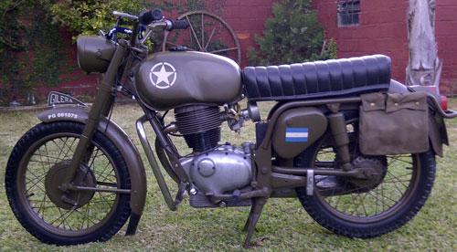 Motorcycle Gilera Giubileo 1962