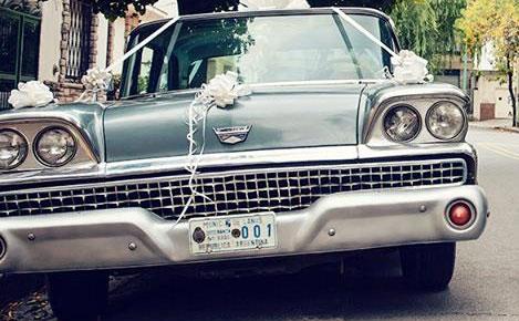 Auto Ford Fairlane 1959