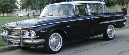 Car IKA Rambler Ambassador