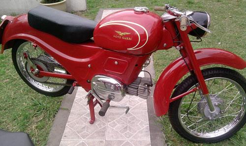 Motorcycle Guzzi Gigolo 1956
