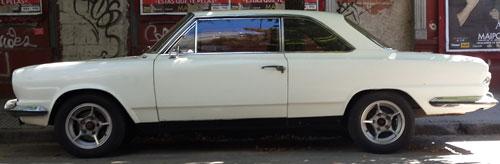 Car IKA Coupé Torino 1972