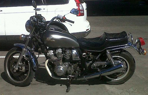 Auto Honda CB 750 Custom 1981