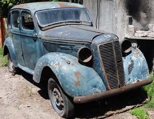 Car Morris Ten 1947