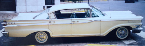 Car Mercury Monterrey 1959