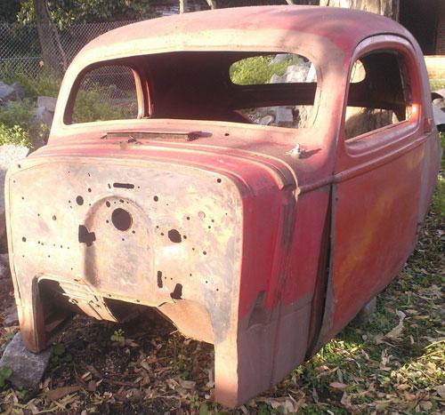 Auto Chevrolet Coupé 1935