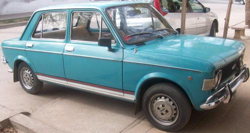 Car Fiat 128 Berlina 1974