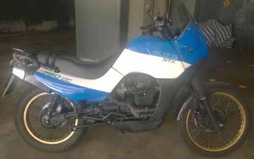 Motorcycle Moto Guzzi NTX 750
