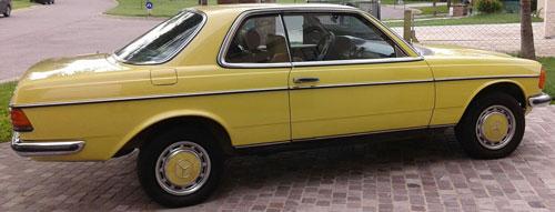 Auto Mercedes Benz 1977