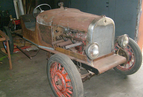 Car Ford Baquet 1928