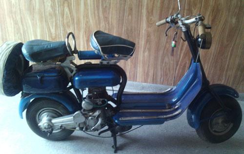Motorcycle Siambretta 1956