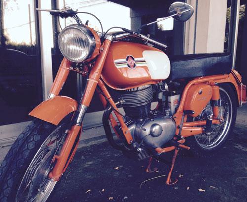 Motorcycle Gilera Giubileo 175