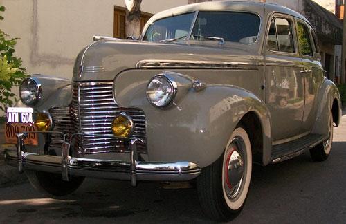 Car Chevrolet 1940 Special De Luxe