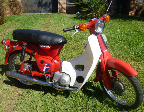 Motorcycle Honda Econo Power