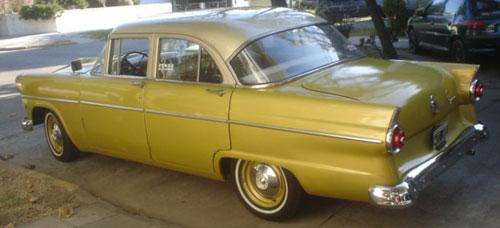 Car Ford 1955 Customline