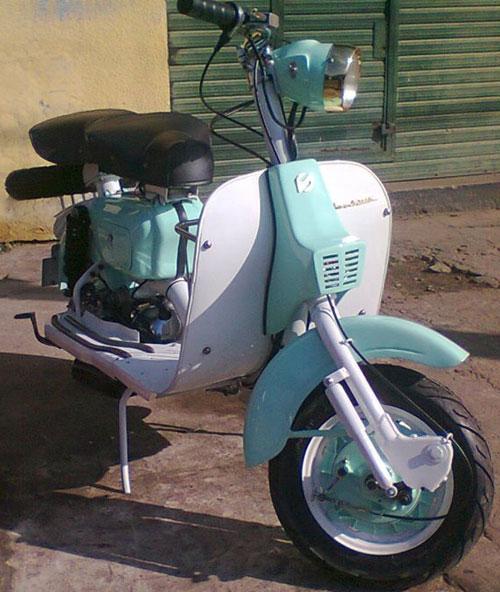 Motorcycle Siambretta AV 175
