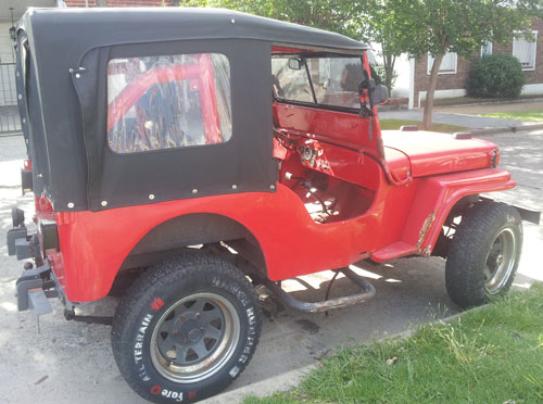Car Jeep Williz 1943