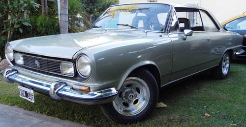 Car Renault Torino TS