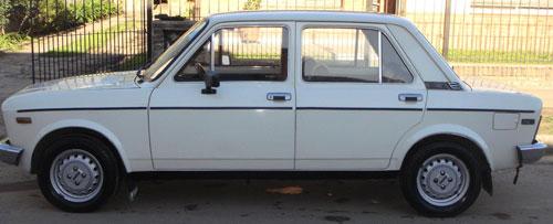 Auto Fiat 128 1981