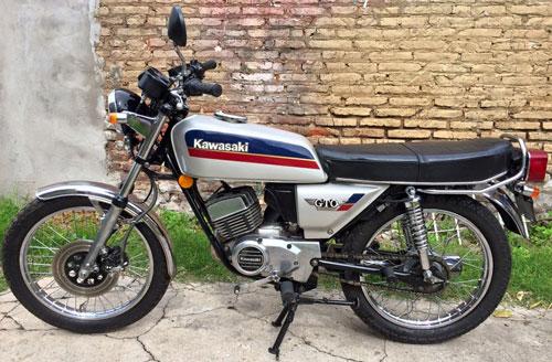 Moto Kawasaki GTO 110