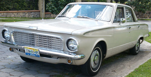 Auto Dodge Valiant 1963