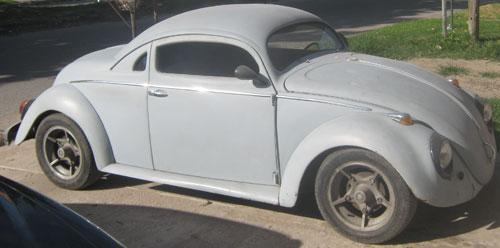 Auto Volkswagen Escarabajo Coupé