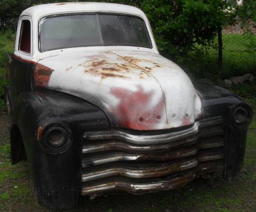 Auto Chevrolet Sapo 1950