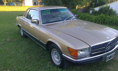 Car Mercedes Benz 450 SLC 5.0