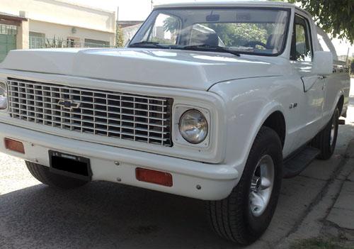 Auto Chevrolet C10 1972
