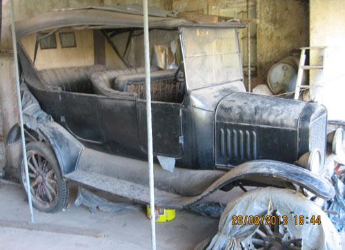 Auto Ford 1924