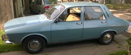 Car IKA Renault 12 1972