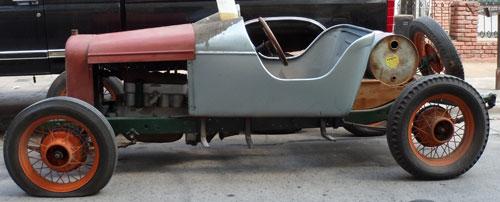 Car Ford A Baquet