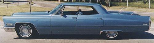 Auto Cadillac Sedán De Ville 1968