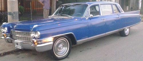 Auto Cadillac 1963