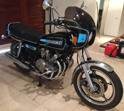 Motorcycle Suzuki GS550E