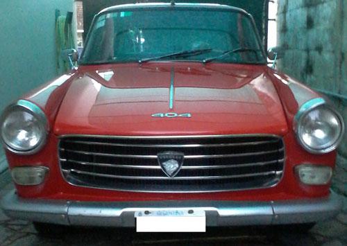 Car Peugeot 404 1979