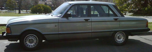 Car Ford Falcon 1988