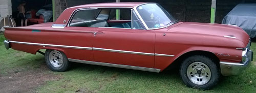 Auto Ford Galaxie