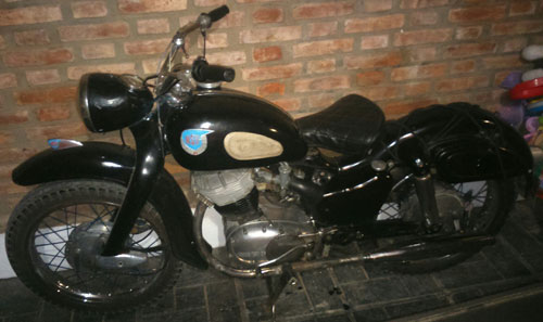 Motorcycle NSU Max 250