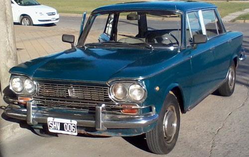 Car Fiat 1500 1968