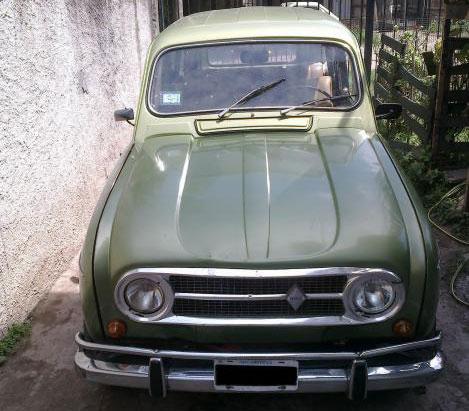 Car Renault 4S 1972