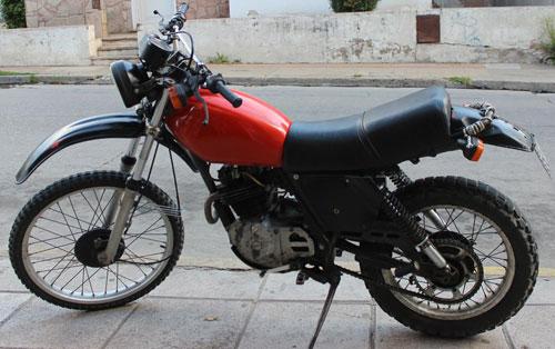 Motorcycle Honda XL