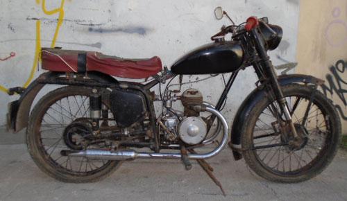 Moto Moto Inglesa 1940