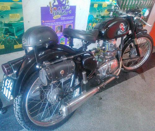 Motorcycle Gilera 150 1949
