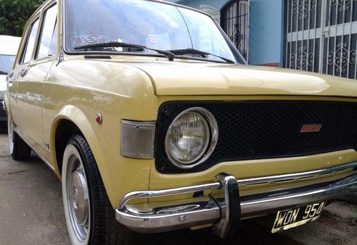 Car Fiat 128 1978