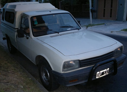 Car Peugeot 504 Pick Up 1991
