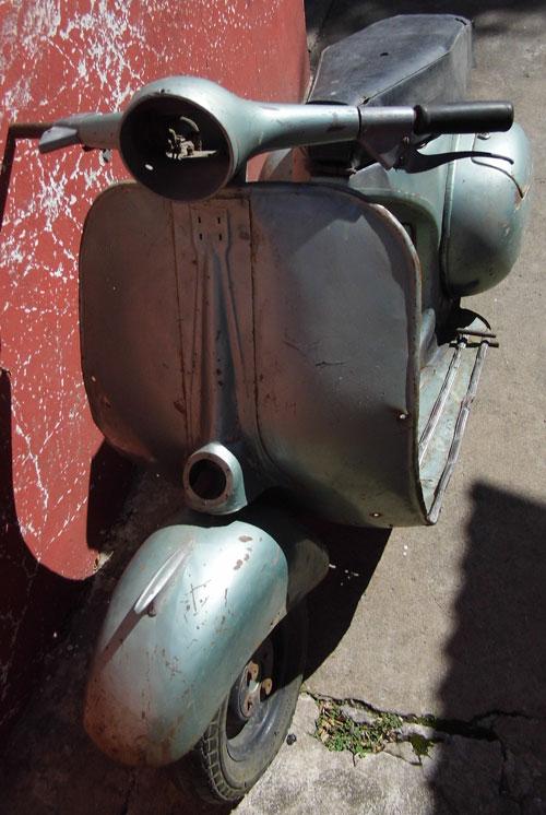 Motorcycle Vespa 1956