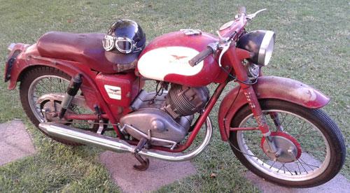 Moto Moto Guzzi Lodola Sport 175 1960