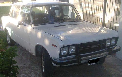 Car Fiat 125 CL 1980