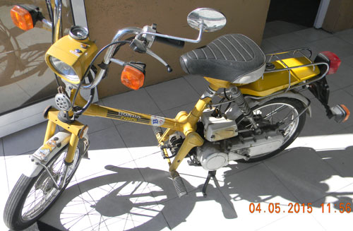 Motorcycle Honda Express 50