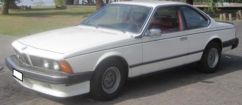 Car BMW 633 CSI